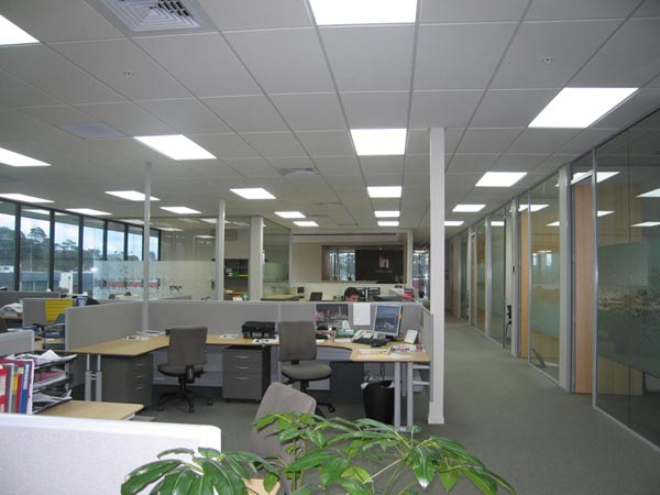 Designer open office furniture commercial space planning
