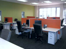 Call Centre Layout Design / Office Space Design