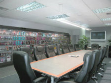 Boardroom & Product Display / Commercial Office Design